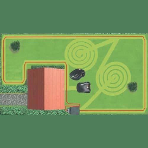 Robot Mower Boundary Wire Plan